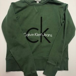 Calvin Sweater- Olive Green